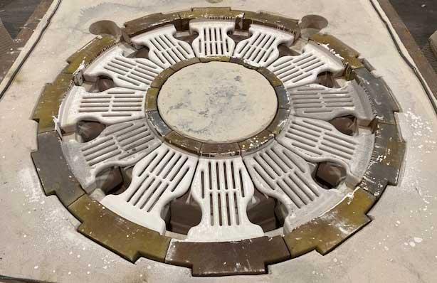 Complex Core Lg Mold Sand